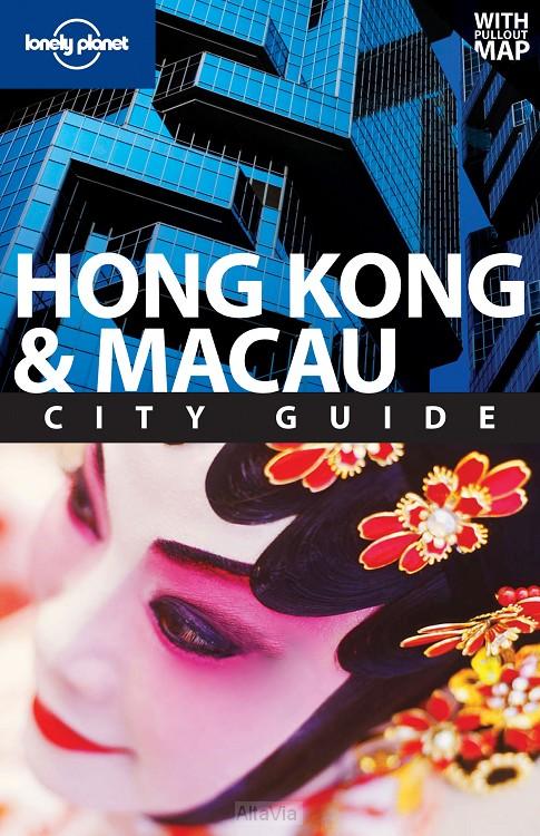 Hong Kong  & Macau 14 city guide + map