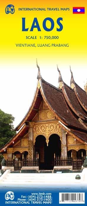 laos 1/750,000
