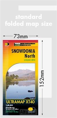 snowdonia noord Harvey 1/40,000 mini