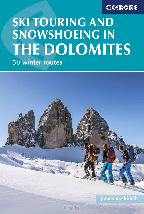 dolomites ski snowshoe touring dolomiete