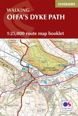 offa s dyke map booklet CIC 1/25,000