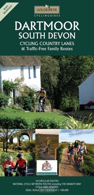 Dartmoor / South Devon cycling map r/v w