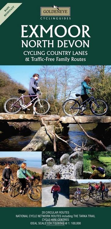 Exmoor / North Devon cycling map r/v wp