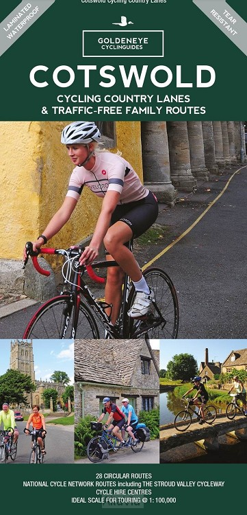 Cotswold cycling map