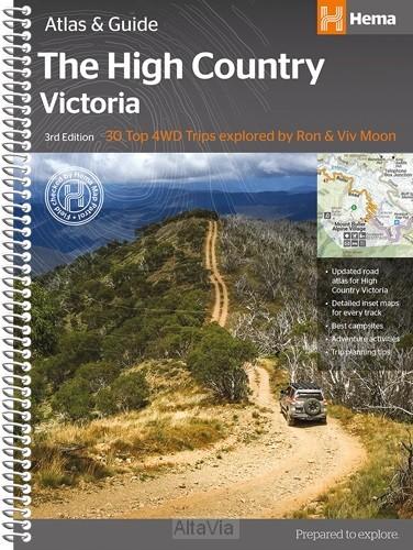 victoria high country atlas 1/200 000