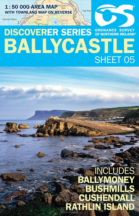ballycastle 5 disc osi 1/50,000