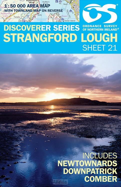 Strangford Lough OSI noord 21 1/50,000
