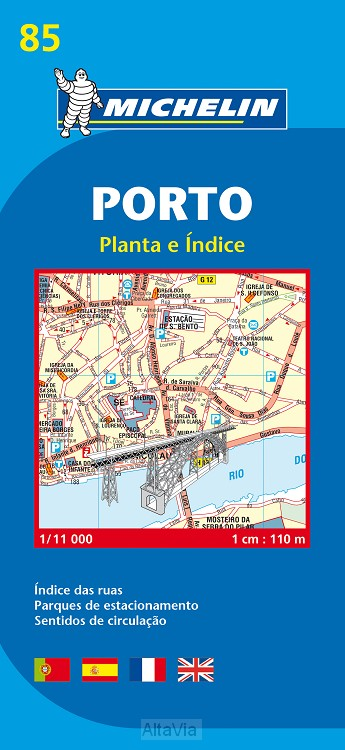 Porto 85 STADSPLAN