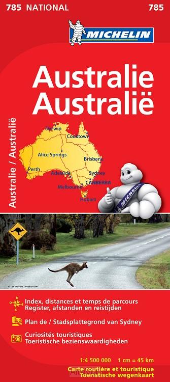 Australië 785 (r) 1/4,500 000