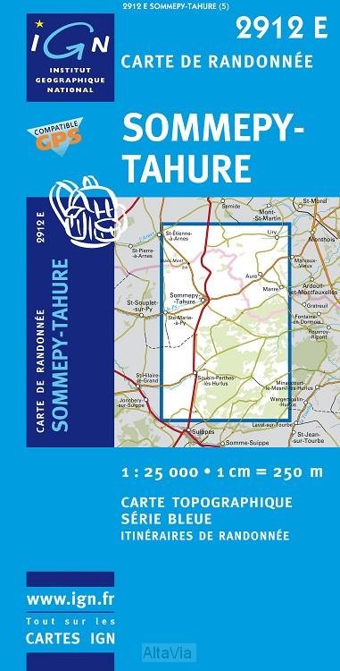 Sommepy-Tahure gps