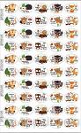 Fun stickers forest animals