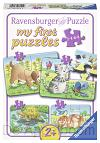 Schattige huisdieren 4 puzzels