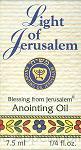 Anointing oil light of jerusalem 7.5ml