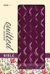 NIV quilted collection bible purple duot