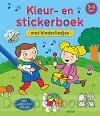 Kleur- en stickerboek met kinderliedjes