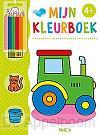 Mijn kleurboek tractor 4+