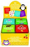 Early learning spelletjesblik 4 soorten