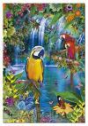 Tropische papegaai (500)