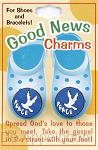 Armbandsymbool set duif/peace