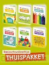 Thuispakket kleur- doe- en puzzelboekjes