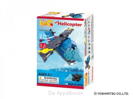 LaQ Hamacron Constructor Mini Helicopter