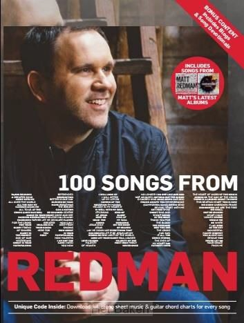 100 Songs From Matt Redmann - Songbook