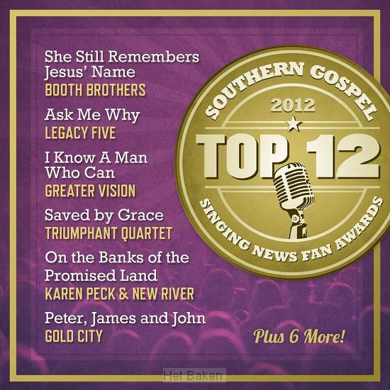 Top 12 Southern Gospel Songs Of 2012