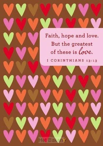 FAITH HOPE LOVE - 10 CARDS