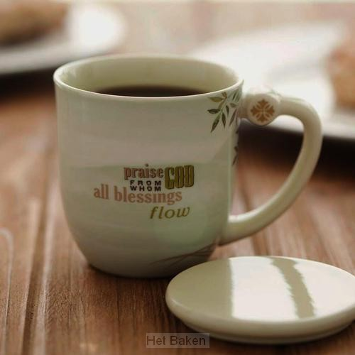 The Doxology (Teacup with lid)