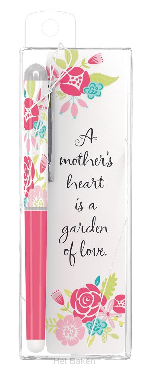 A Mother's heart is a garden of love - P