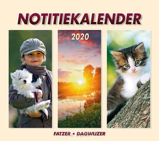 Notitiekalender hsv 2020