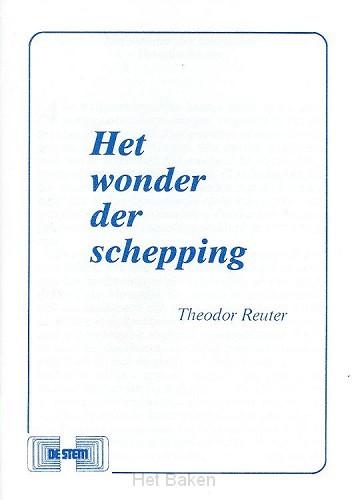 WONDER DER SCHEPPING