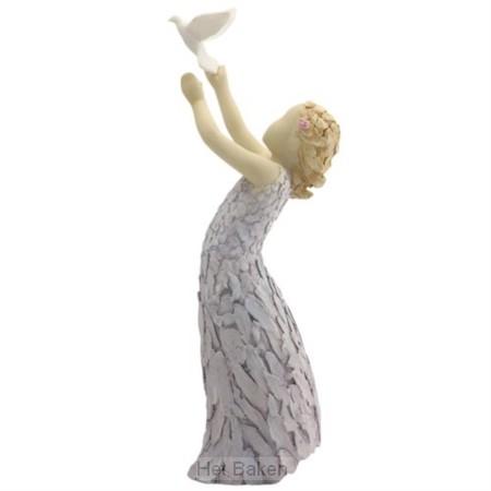 Figurine follow your dreams 33,5cm
