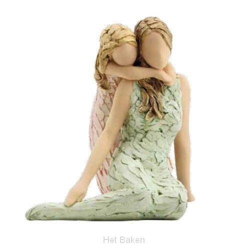 Figurine like mother like daughter 25cm