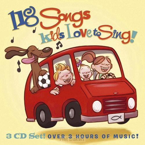 118 SONGS KIDS LOVE TO SING -3CD