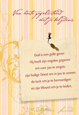 WK BELIJD GOD IS EEN GULLE GEVER
