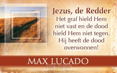 UITDEELKAART JEZUS DE REDDER