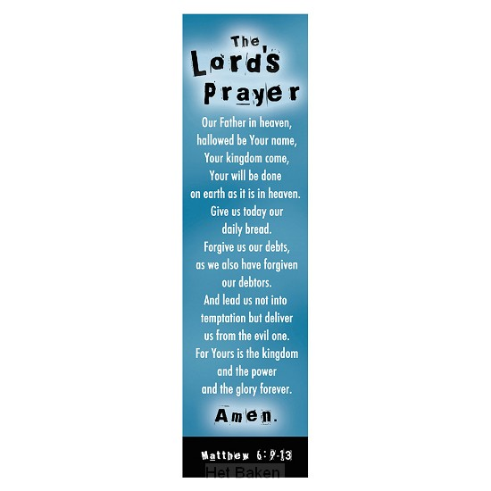 THE LORDS PRAYER (10)