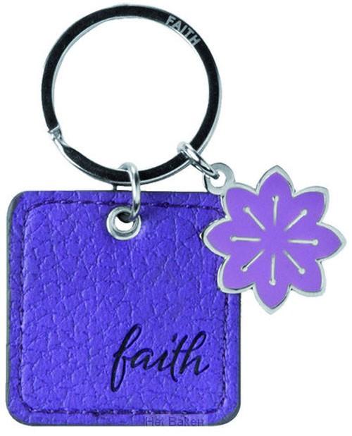 FAITH - LUXLEATHER KEYRING