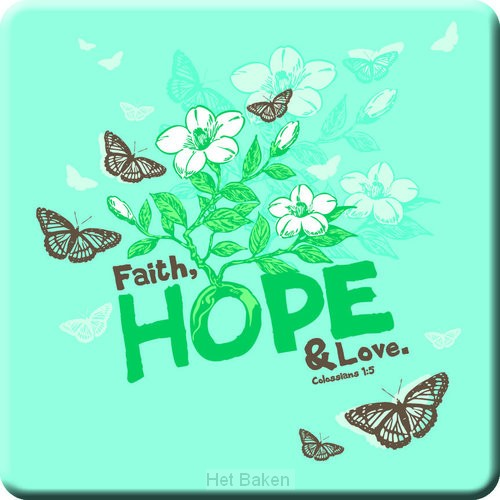 FAITH HOPE LOVE - MAGNET