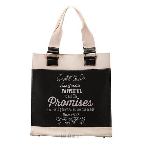 The Lord is faithful - Tote bag - 34 x 1