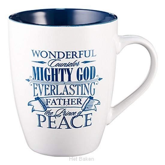Wonderful counselor Mighty God - Mug 385