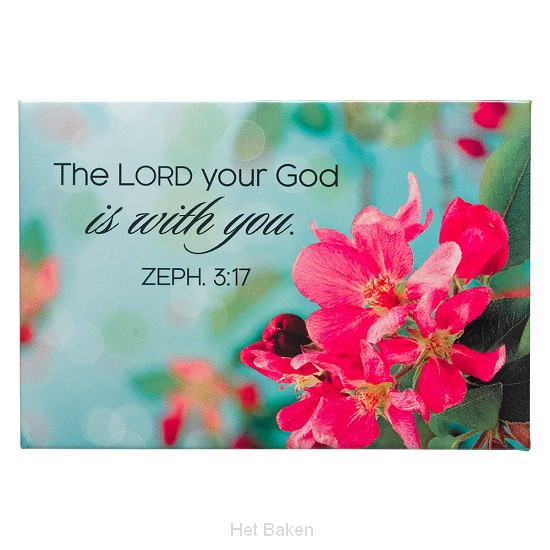 The Lord your God is with you - Magnet 8