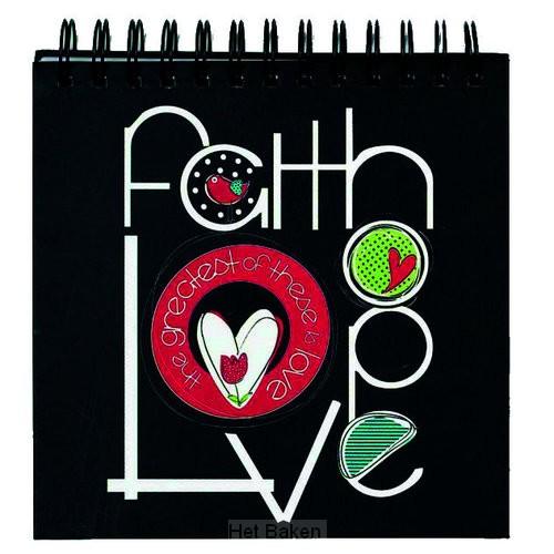 FAITH HOPE LOVE - SQUARE