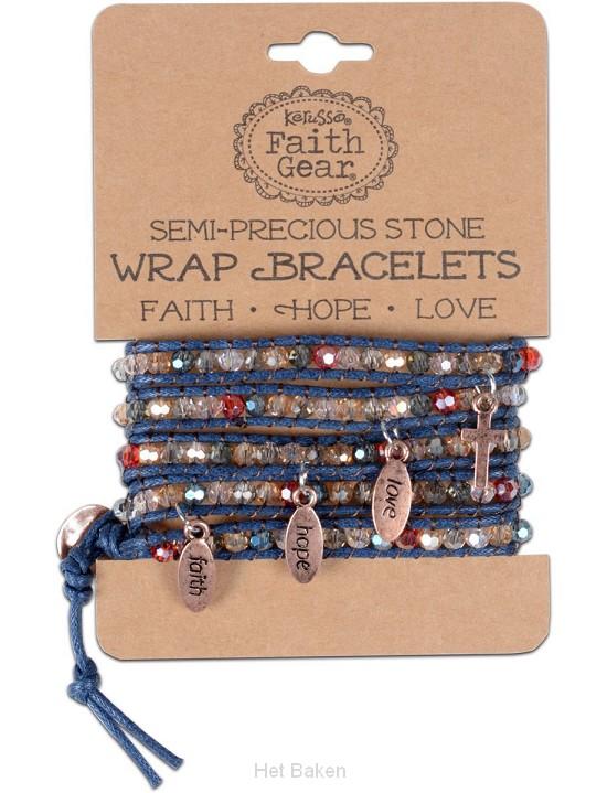 Faith Hope Love - Sierra Gems - Wrap bra