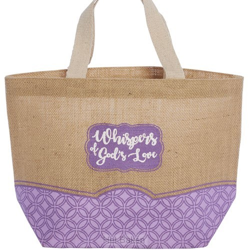 Tote bag whispers of Gods love