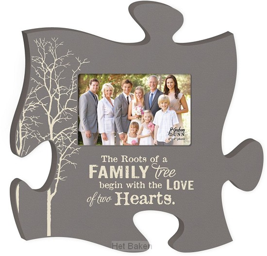 The Roots of a Family tree - Photo frame