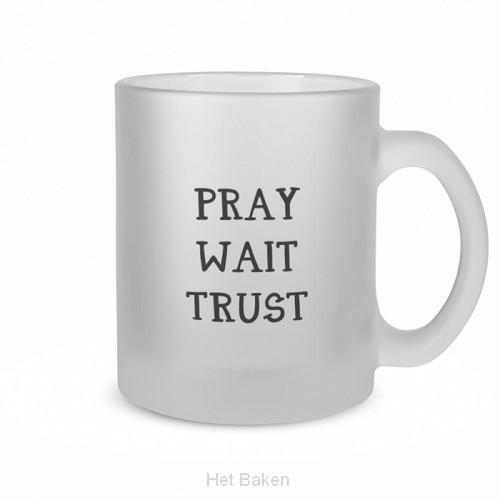 Theeglas pray wait trust