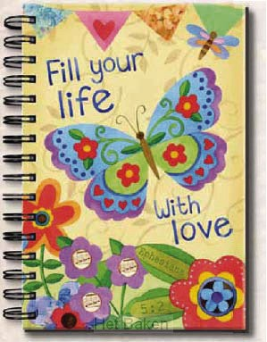 Fill your life with love - Wirebound jou
