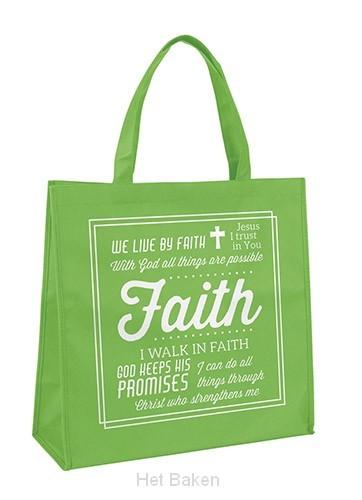 Tote bag faith new design